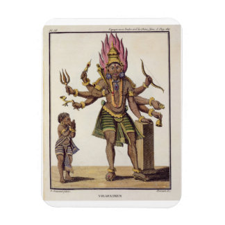 Shiva as Virapatren, Lord with the ill-formed Evil Magnet