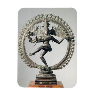 Shiva Nataraja, Tamil Nadu, Late Chola (bronze) Magnet