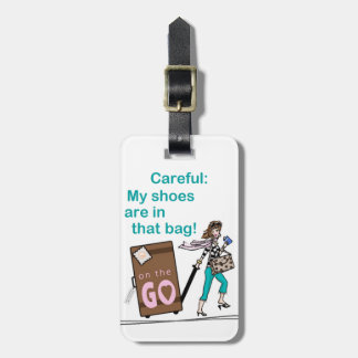 Shoe Bag Travel Bag Tags