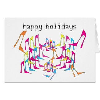 Shoe Celebration Holiday Card