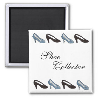 Shoe Collector Square Magnet