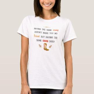"""Shoes"" Basic T-Shirt"