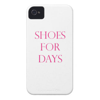 Shoes For Days Case-Mate iPhone 4 Cases