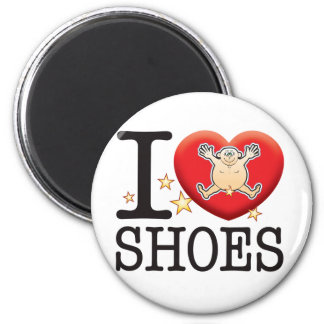 Shoes Love Man 6 Cm Round Magnet