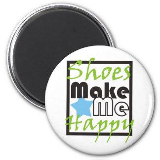 Shoes Make Me Happy 6 Cm Round Magnet