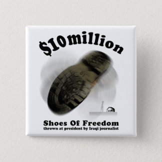 SHOES OF FREEDOM Button