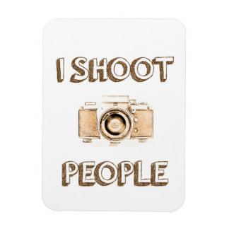 shoot people funny text photo camera photographer magnet