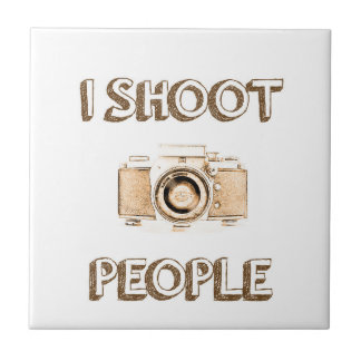 shoot people funny text photo camera photographer tile
