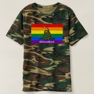 #ShootBack Men's Camouflage T-Shirt