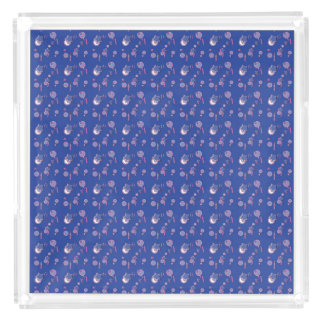 Shooting Stars and Comets Blue Perfume Tray