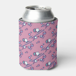 Shooting Stars and Comets Pink Beer Sleeve