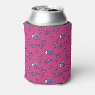 Shooting Stars & Comets Hot Pink Beer Sleeve