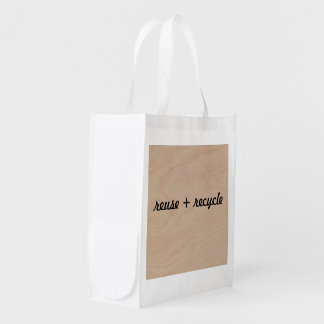 shopping bag reuse recycle