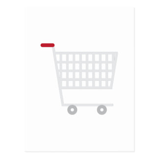 Shopping Cart Postcard