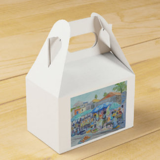 SHOPPING IN HAITI Gable Box Party Favour Box