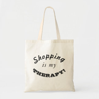 Shopping is my THERAPY! Tote Bag