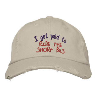 Short Bus Embroidered Cap