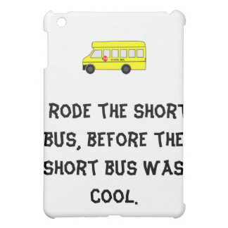 Short Bus Case For The iPad Mini