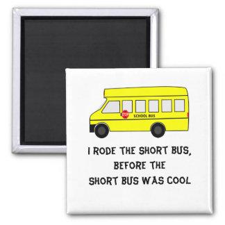 Short Bus Square Magnet