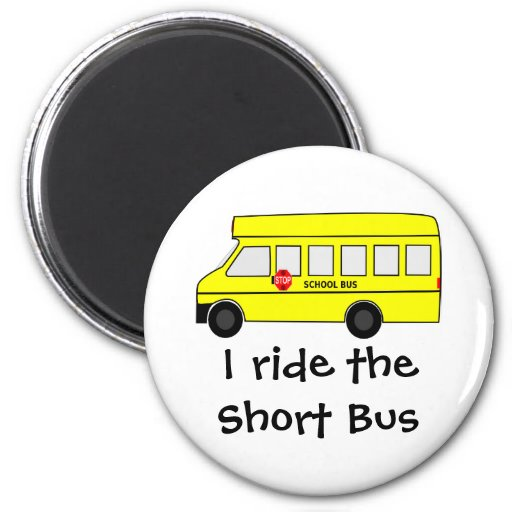 Short Bus Magnet