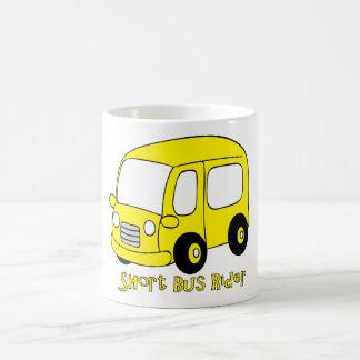 short bus rider 2 basic white mug
