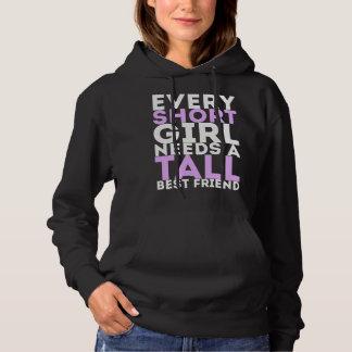 Short Girl - Tall Girl Hoodie