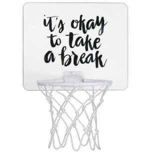 Motivational Quotes Gifts Mini Basketball Hoops | Zazzle.co.nz