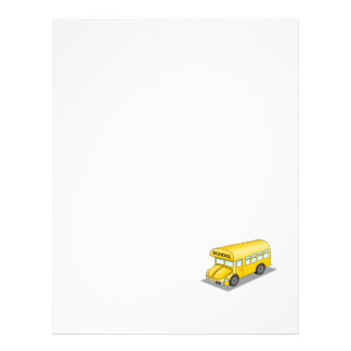 Short School Bus 21.5 Cm X 28 Cm Flyer