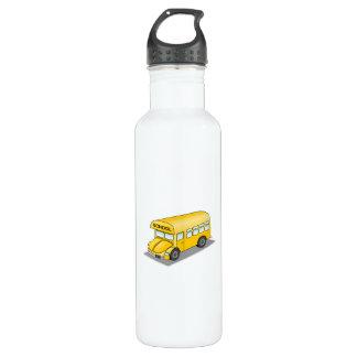 Short School Bus 710 Ml Water Bottle