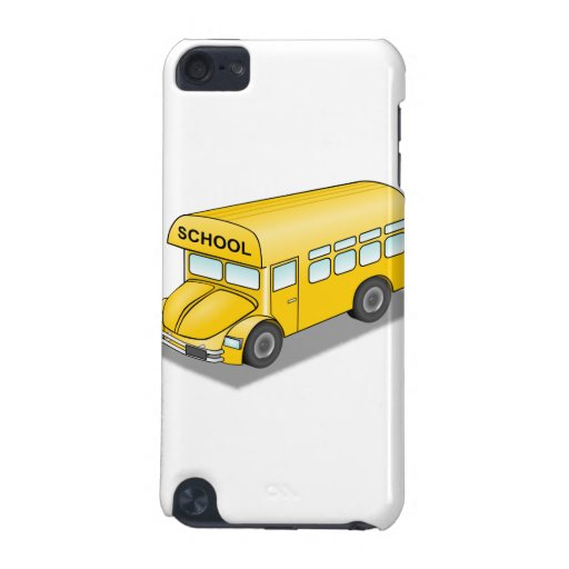 Short School Bus iPod Touch (5th Generation) Case