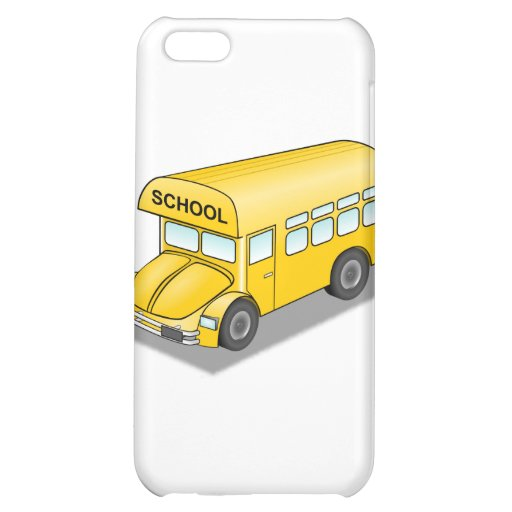 Short School Bus Cover For iPhone 5C