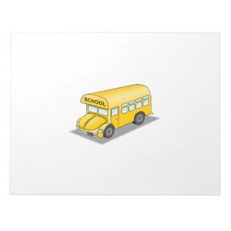 Short School Bus Scratch Pad