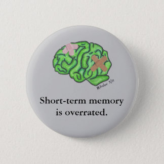 """Short-term memory"" button (round)"