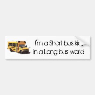 ShortBus Bumper Sticker