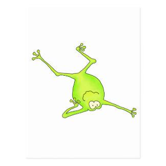 Shoulder Stand Yoga Frog Post Cards