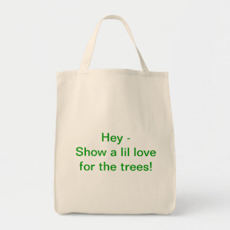 Show a lil love tote bag