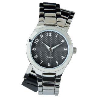 """Show for woman doubles bracelet """"Black Elegance """" Watches"""