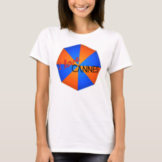 Show how you Love Cannes. T-Shirt. (W) T-Shirt