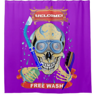 Shower Curtain Free Wash 35 Colors