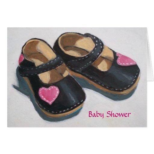 SHOWER INVITATION BABY GIRL CARDS