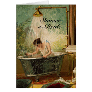 Shower the Bride Greeting Card Invitation