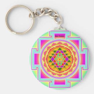 Shri Chakra Key Ring