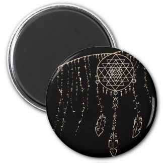 Shri Yantra and a Dream Catcher Magnet