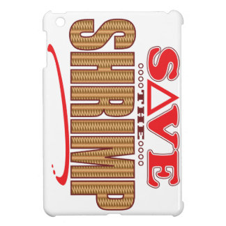 Shrimp Save iPad Mini Cover