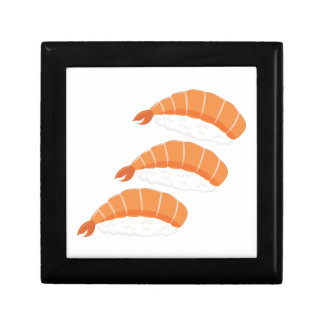 Shrimp Sushi Small Square Gift Box
