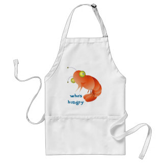 shrimpy, who's hungry ?! standard apron