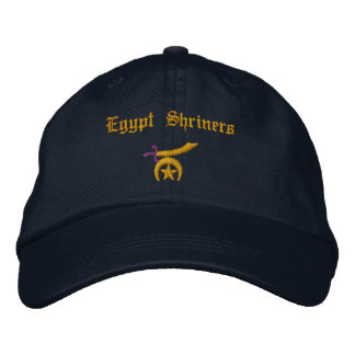 Shriner Embroidered Baseball Cap