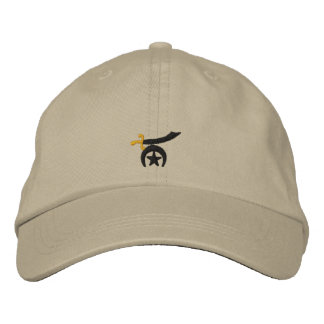 Shriner Embroidered Embroidered Baseball Cap