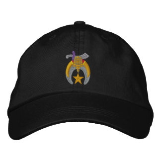 Shriner Embroidered Embroidered Cap