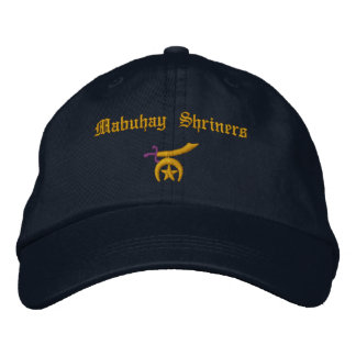 Shriner Embroidered Embroidered Hats